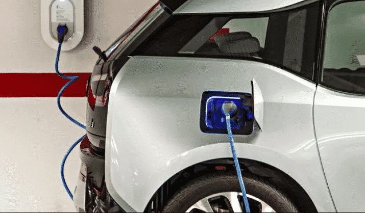 Electric Vehicle Charging System Installation
